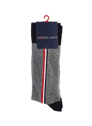 North Of Navy Çorap Kırmızı